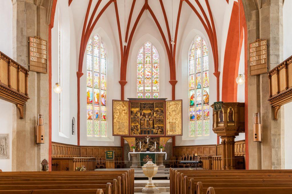 Innenraum der Frauenkirche Meißen