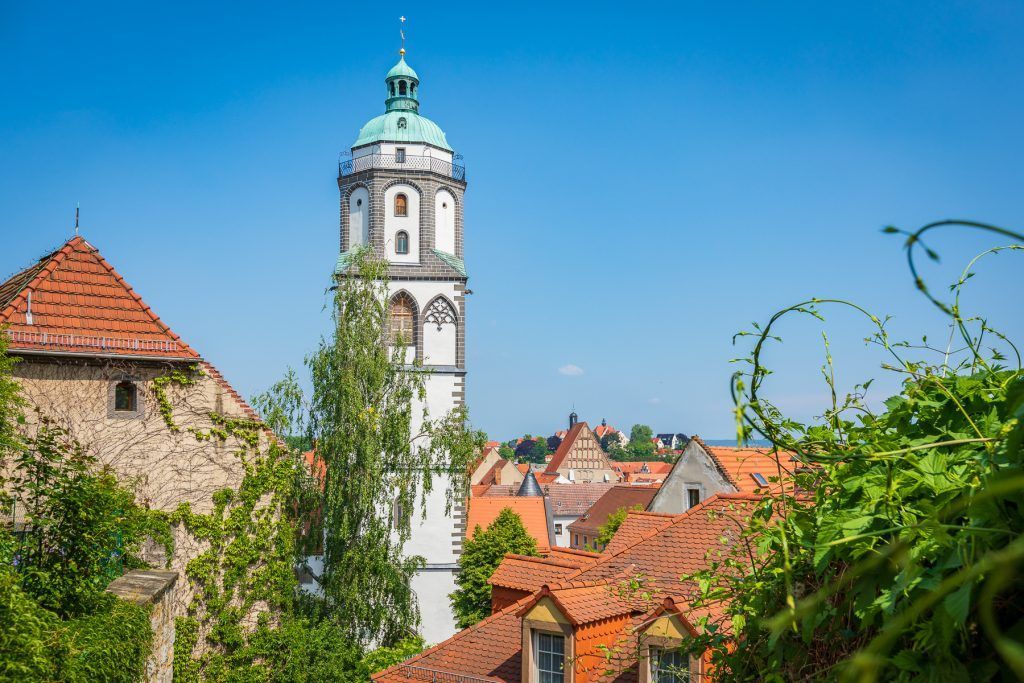 Turm der Frauenkirche Meißen